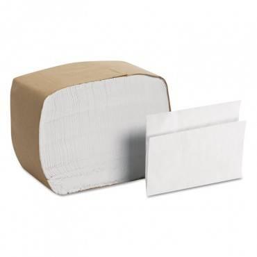 Mornap Full-fold Dispenser Napkins, 1-ply, 12x17, White, 250/pack, 24pk/ctn