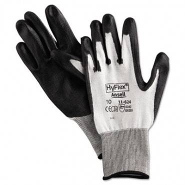 Hyflex Dyneema Cut-protection Gloves, Gray, Size 10, 12 Pairs