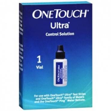 Onetouch Ultra 1-vial Control Solution Part No. 5388593701 (1/box)