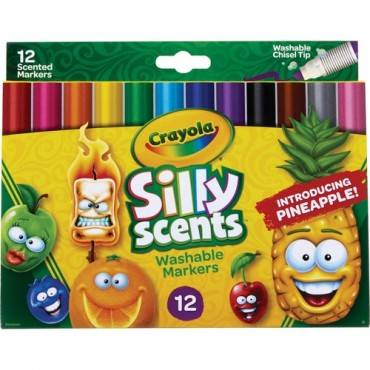 Crayola Silly Scents Slim Scented Washable Markers (ST/SET)