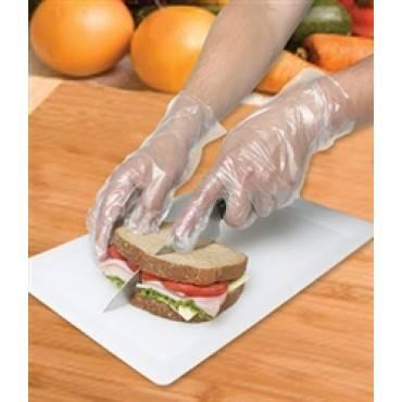 Polyethylene Gloves, Powder-free, Large, Clear
