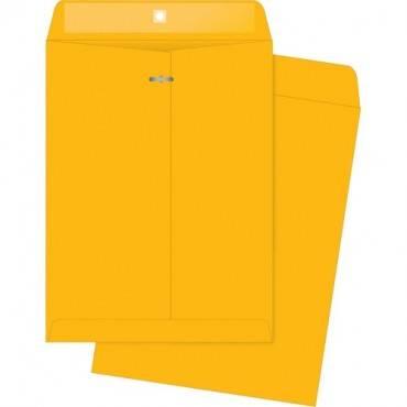 Business Source 32 lb Kraft Clasp Envelopes (BX/BOX)