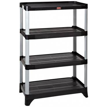 "4 SHELF UNIT 72"" HEIGHTSTATIONARY"
