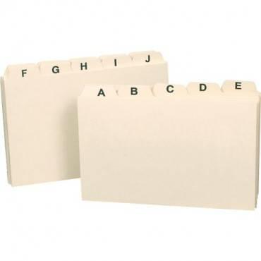 Smead Card Guides, Alphabetic Sets (ST/SET)