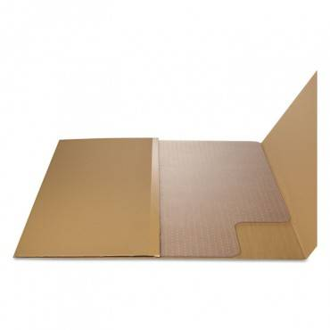 Alera  Cleated Chair Mat For Low And Medium Pile Carpet, 36 X 48, Clear UNV56806 1 Each