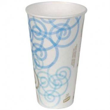 Perfectouch Ppr Hot Cup  20oz Whimsy 500cs