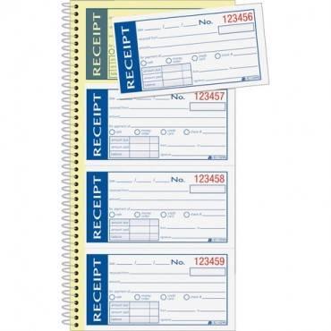 Adams Write 'N Stick Receipt Book (EA/EACH)