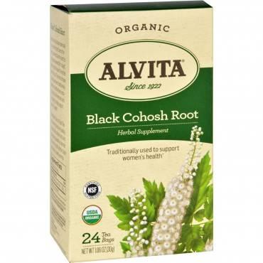 Alvita Teas Organic Black Cohosh Tea Bags - 24 Bags