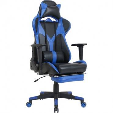 Lorell Foldable Footrest High-back Gaming Chair (EA/EACH)