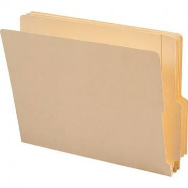 Smead End Tab Manila Folders with Shelf-Master® Reinforced Tab (BX/BOX)