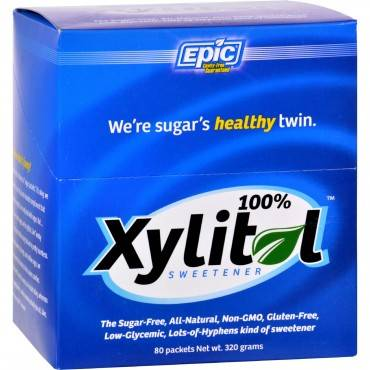 Epic Dental Sweetener - 100% Xylitol Packet - 15 oz