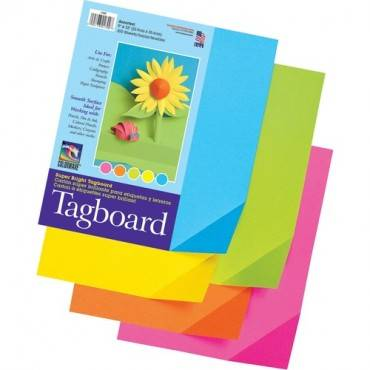Pacon Super Bright Tagboard (PK/PACKAGE)