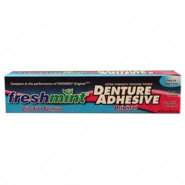 Freshmint Denture Adhesive, 2 oz. Part No. DA2 Qty 1
