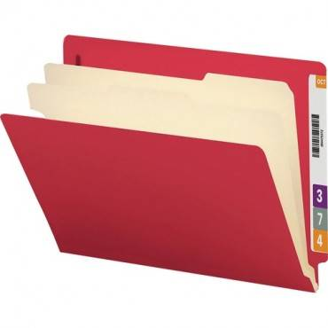 Smead End Tab Colored Classification Folders (BX/BOX)