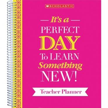 Scholastic Inspirational Teacher Planner (EA/EACH)