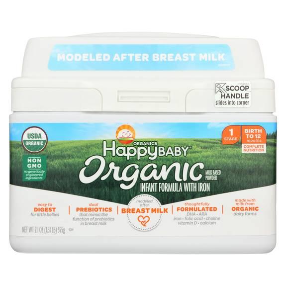 Happy Baby Organic Infant Milk Based Formula Powder With