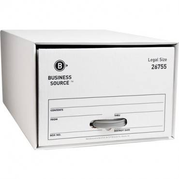 Business Source Drawer Storage Boxes (CA/CASE)