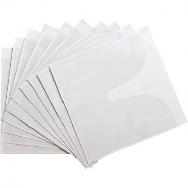 Compucessory Self-Adhesive Poly CD/DVD Holders (PK/PACKAGE)