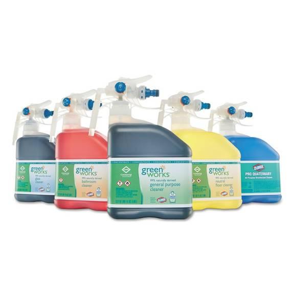 Green Works Bathroom Cleaner Concentrate 101 Oz Bottle 2