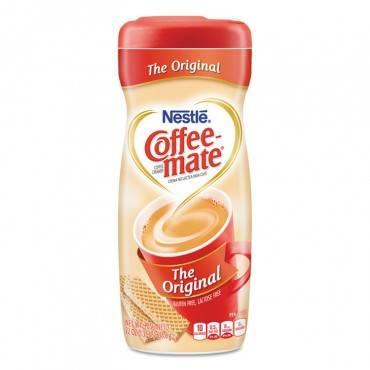 Coffee Mate  Non-Dairy Powdered Creamer, Original, 22 Oz Canister, 12/Carton