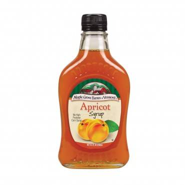 Maple Grove Farms Syrup - Apricot - Case of 12 - 8.5 fl oz