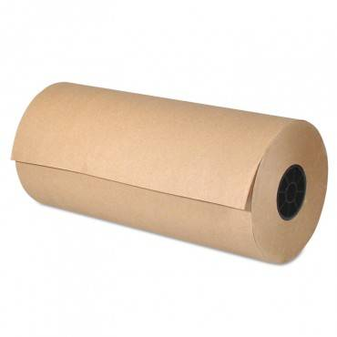 Kraft Paper, 30 In X 800 Ft, Brown