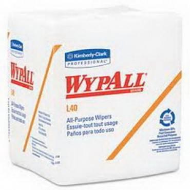 """Wypall L10 Sani-prep Dairy Towels, 9.3"""" X 10.5"""", White Part No. 01770 (200/box)"""