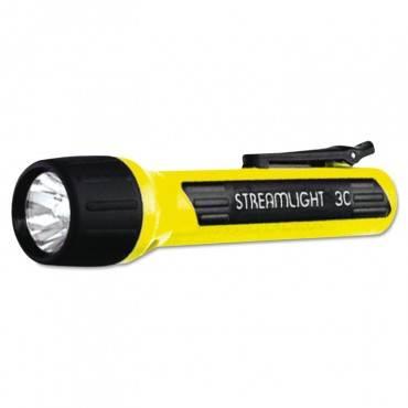 Streamlight  Propolymer Flashlight, Xenon Bulb, Yellow, 3c (Sold Sep)