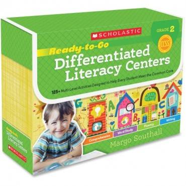 Scholastic Res. Grade 2 RTG Differentiated Literacy Center (EA/EACH)