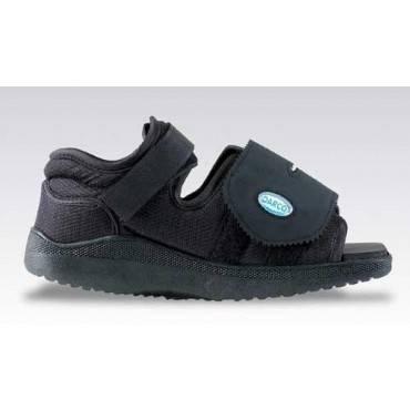 Darco International Darco Med-surg Shoe Black Square-toe Men's Small Part No.mqm1b