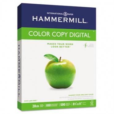 PREMIUM COLOR COPY PAPER, 100 BRIGHT, 28LB, LETTER, PHOTO WHITE, 500 SHEETS/REAM