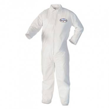 Kleenguard  A40 Coveralls, X-Large, White