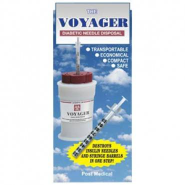 Voyager Diabetic Needle Disposal Part No. PMSM-950-16 Qty 1