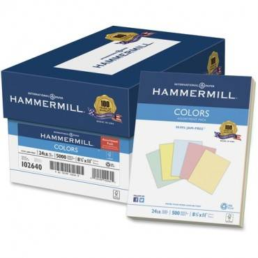 Hammermill Colors Inkjet, Laser Print Colored Paper (RM/REAM)