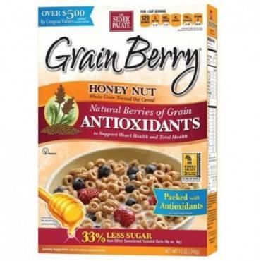 Grain Berry Antioxidants Whole Grain Cereal - Honey Nut - Case of 6 - 12 oz.