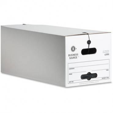 Business Source Light Duty Letter Size Storage Box (CA/CASE)