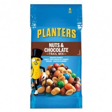 Trail Mix, Nut & Chocolate, 2oz Bag, 72/carton
