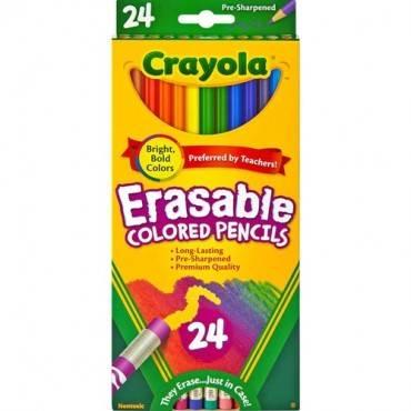 Crayola Erasable Colored Pencils (PK/PACKAGE)