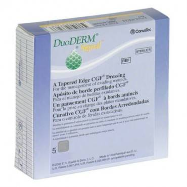 "Duoderm Signal Dressing 4-1/2"" X 7-1/2"" Oval Part No. 410510 (5/box)"