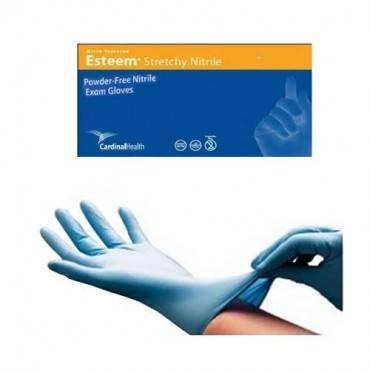 Esteem Stretchy Nitrile Gloves, X-Large, Blue Part No. 8819NB Qty  Per Box