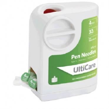 Ultiguard Pen Needle 32g X 4 Mm (100 Count) (100/Box)