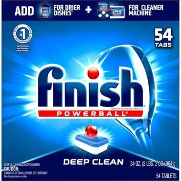 Finish All-in-1 Dishwasher Tabs (BX/BOX)