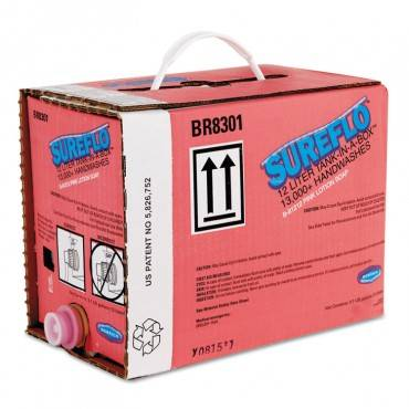 Sureflo Pink Lotion Soap Cartridge, 12 L Tank Cartridge