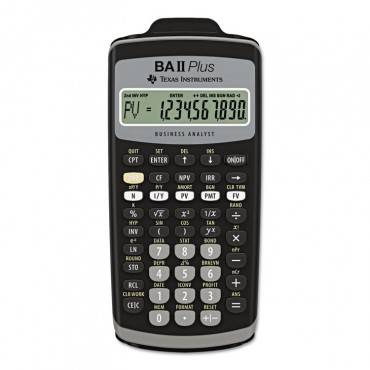 Baiiplus Financial Calculator, 10-Digit Lcd