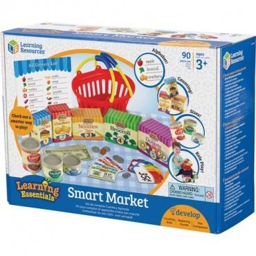 Learning Resources Ages 3+ Smart Market Play Set (ST/SET)