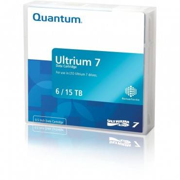 "1/2"" Ultrium Lto-7 Cartridge, 960m,15 Tb Native/6tb Compressed Capacity"