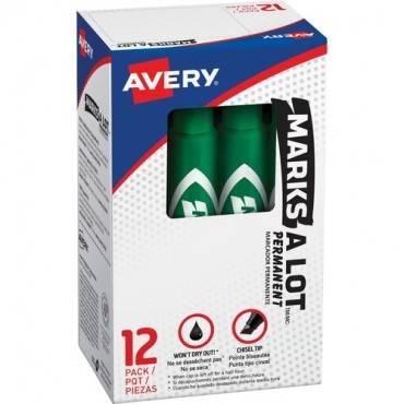 Avery® Regular Desk Style Permanent Markers (DZ/DOZEN)