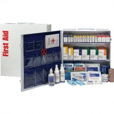 First Aid Only ANSI First Aid Station with Med (EA/EACH)