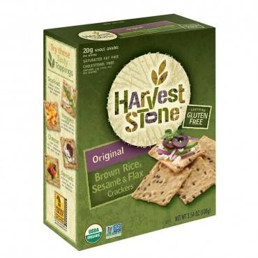 Harvest Stone Harvest Stone Organic Brown Rice and Sesame - Rice and Sesame - Case of 6 - 3.54 oz.