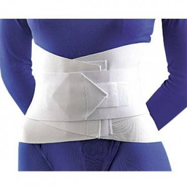 Sacral Lumbar Support With Abdominal Belt, Small Part No. 31-208smstd (1/ea)